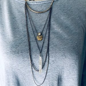 Gold Layer American Eagle Necklace